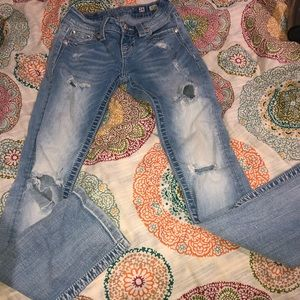 Miss me heavily destructed jeans